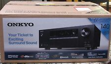 AS IS Onkyo TX-SR353 5.1-Ch 4K Ultra HD, 3D A/V Home Theater Receiver NO POWER