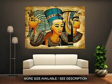 Wall Art Canvas Print Picture Old Egyptian Papyrus-Unframed