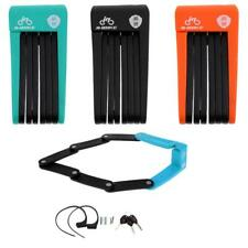 Foldable Chain Lock Cable Anti-Theft Safety Lock Bicycle Accessories 4 Color