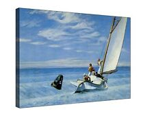 Ground Swell Edward Hopper - Gallery Giclee Canvas Wall Art +Sizes