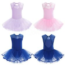 Girls Ballet Tutu Princess Dress Up Dance Wear Costume Party Kids Gymnastics