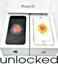 Apple iPhone SE 16GB 32GB 64GB (UNLOCKED) T-Mobile AT&T Rose Gold Gray NEW (W)