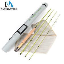 """Maxcatch 1/2/3WT Fly Rod 6'/6'6""""/7'/7'6"""" IM10/40T SK Carbon Fly Fishing Rod"""