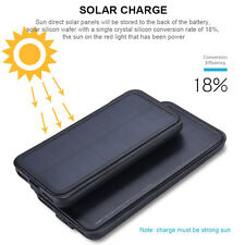 External Solar Power Battery Charger Case Cover Power Bank For iPhone 6 7 7 Plus