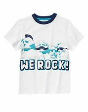 NWT Gymboree Boys Mt Rushmore Tee Shirt Size 6