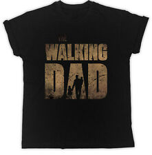 Walking Dad T shirt Father's Day Dead Zombie Ideal Gift Present Unisex Tshirt
