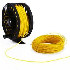 100FT Fly Fishing Floating Running Line 4F/5F/6F/7F/8F Fly Line - Yellow