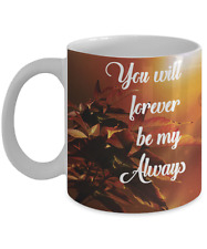 Relationship Mug  Mugs With Quotes by Vitazi Kitchenware, 11 oz Ceramic Coffee