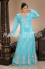Exclusive Party Wear Hand Made Embroidery Caftan Dress For Australia 4299
