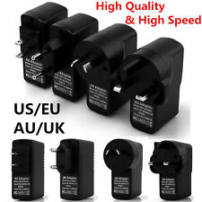 2A 5V Rapid EU/US/AU/UK Plug Home Travel AC Charger Adapter For iPhone HTC Phone