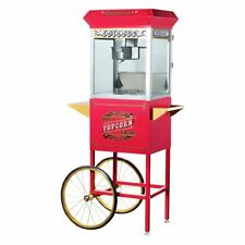 Great Northern Popcorn 6040 Antique Style Popcorn Popper Machine with Cart