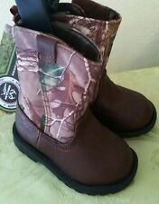 REALTREE~OSHKOSH~BOYS GIRS~CAMO CAMOUFLAGE~CHILDREN~BOOTS~COWBOY HIKING~SHOES