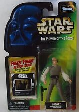 New Hasbro Star Wars Lobot Blaster Pistol Action Slide The Power of the Force