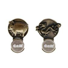 Vintage Zodiac Magnetic Hat Clip Golf Ball Markers Fit for Golf Cap Visor