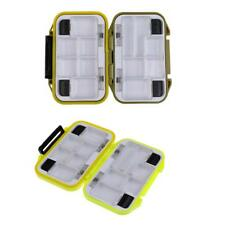 Fishing Lure Bait Tackle Waterproof Storage Box Case w/ 12 Compartments Box