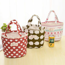 Portable Insulated Thermal Lunch Box Bag Outdoor Picnic Carry Tote Storage Bag g
