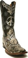 Resistol Ranch Python Women's Square Toe Western Boots #M3929