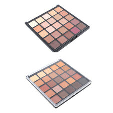 Pro 25 Color Eyeshadow Palette Makeup Matte Shimmer Warm Neutral Eye Shadow