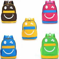 Cartoon Smiling Face Bag Kindergarten Primary Students School Bag Child Backpack