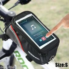 Roswheel 5.5'' Touch Screen Bicycle Saddle Phone Bag Holder Handlebar Pouch