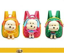 Cute Plush Dog Bag Kindergarten School Student School Bag Children Backpack