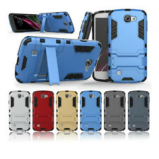 Armor Protective Rugged Hybrid Hard Stand Case Cover For LG OPTIMUS ZONE 3 VS425
