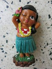Dashboard Doll Hula Girl Tiki 50s Rockabilly Hawaii Kustom Kulture Wink Wobbler