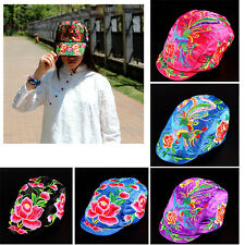 Flower Embroidery Baseball Hats Unisex Cotton Beach Casual Hat Snapback Caps