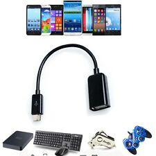 Micro USB Host OTG Adaptor Adapter Cable/Cord For Ematic eGlide Tablet eReader