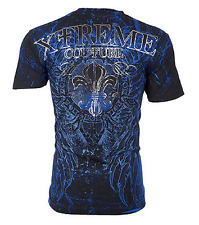 Xtreme Couture AFFLICTION Men T-Shirt HONORABLE Wings Tattoo Biker UFC