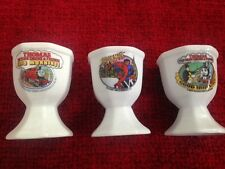 EGG CUP THOMAS THE TANK ENGINE JAMES FAT CONTROLLER