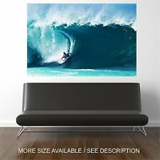 Wall Art Canvas Print Picture Ocean Big Great Waves Surfing-Unframed
