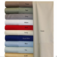 Soft 100% Viscose from Bamboo Sheet Set - 300 Thread Count  ALL SIZES AND COLORS