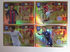 Panini FIFA 365 2016 / 2017 Limited Edition Cards Messi Bale Lewandowski Vardy