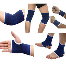 1Pair Sport Elastic Wrist Knee Elbow Ankle Protector Brace Support Wrap Gym Band