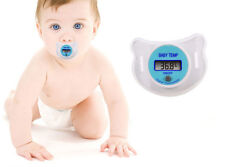 1x Safety Health Nipple Temperature Baby Infant LCD Digital Pacifier Thermometer