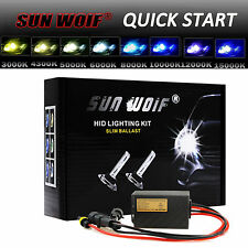 QUICK START AC 35W 55W Xenon HID Light Conversion KIT H1 H4 H7 H11 H13 9006 9007