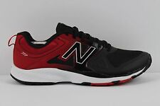 Mens New Balance MX777BR Lightweight Cross Training Trainers Shoes Black Red