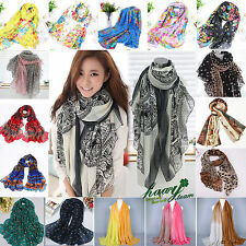 Womens Fashion Winter Warm Soft Long Neck Grils Scarf Shawl Wrap Stole Scarves