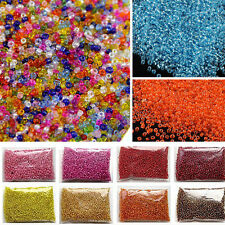 1500pcs 2mm Czech Glass Seed Spacer Beads Jewelry Making DIY Pick 9 Colors-Mix