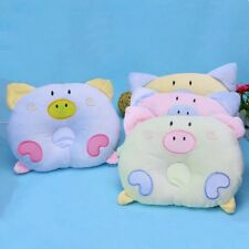 New Cute Pig Soft Cotton Baby Anti Flat Head Support Infant Pillow Love Nest
