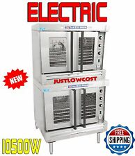 Bakers Pride Commercial BCO-E2 Double Deck Full Size Electric Convection Oven