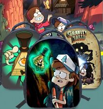 3D Gravity Falls Cartoon Kindergarten Primary Student School bag Child Backpack