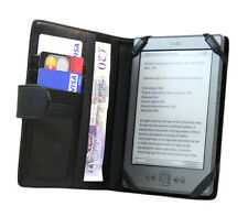 Multi Function Soft PU Leather Book Wallet Case For Amazon Kindle 4 / 5