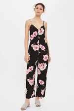 TOPSHOP *Black Floral Jumpsuit* SIZE_UK6_8_10_12_14_16