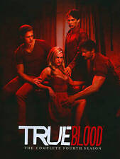 True Blood: The Complete Fourth Season (DVD, 2012, 5-Disc Set) New! Ships fast!