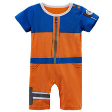 Baby Boy Uzumaki Costume Romper Cute Infant Playsuit Cosplay Party Gift 0-24M