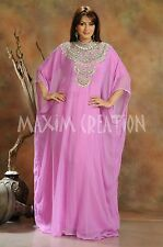 New Evening Gown Party Wear Arabian Kaftan Fancy Maxi Thobe Jalabiay Dress 3446