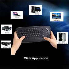 2 in 1 HTPC Wireless 2.4G Trackball Keyboard Fly Air Mouse Portable for Tv Box