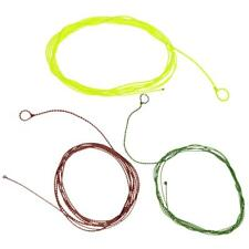 4ft Tapered Braided Fly Line Saltwater/Freshwater Furled Fly Fishing Leader